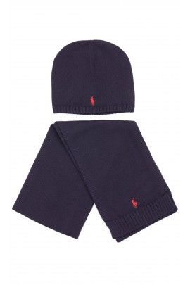 Granatowa czapka przejściowa, Polo Ralph Lauren