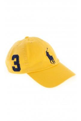 Żółta czapka z daszkiem, Polo Ralph Lauren
