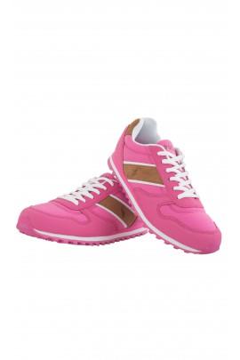 Różowe buty sportowe, Polo Ralph Lauren