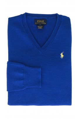 Szafirowy sweter, Polo Ralph Lauren