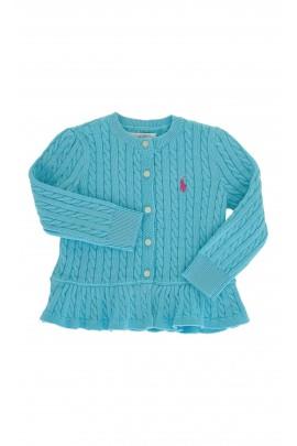 Turkusowy sweterek, Polo Ralph Lauren