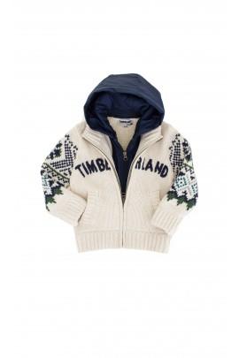 Sweter z kapturem na suwak, Timberland