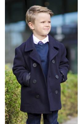Granatowa kurtka dwurzedowa, Polo Ralph Lauren