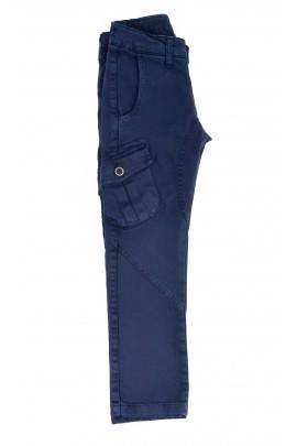 Granatowe spodnie chłopiece, Aston Martin