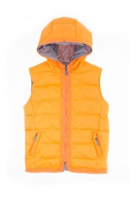 Granatowo-pomarańczowa kurtka chłopięca, Aston Martin