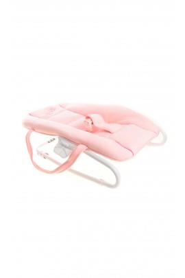 Fotelik niemowlęcy różowy, Câlin-Câline
