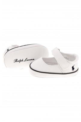 Białe trampki niemowlęce, Polo Ralph Lauren