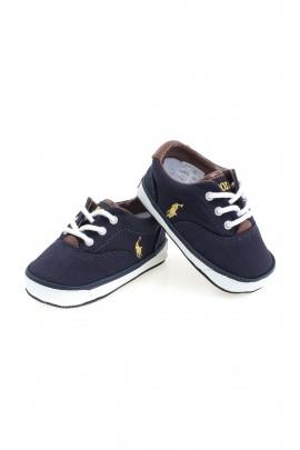 Granatowe buciki niemowlęce, Polo Ralph Lauren