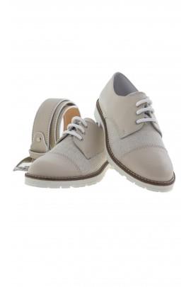 Beżowe pantofle chłopięce, Colorichiari