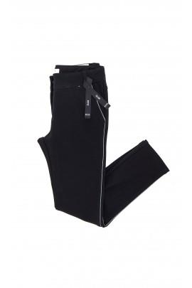 Czarne spodnie dziewczęce, Hugo Boss