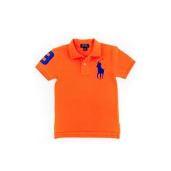 Pomarańczowe chłopięce polo, Polo Raph Lauren