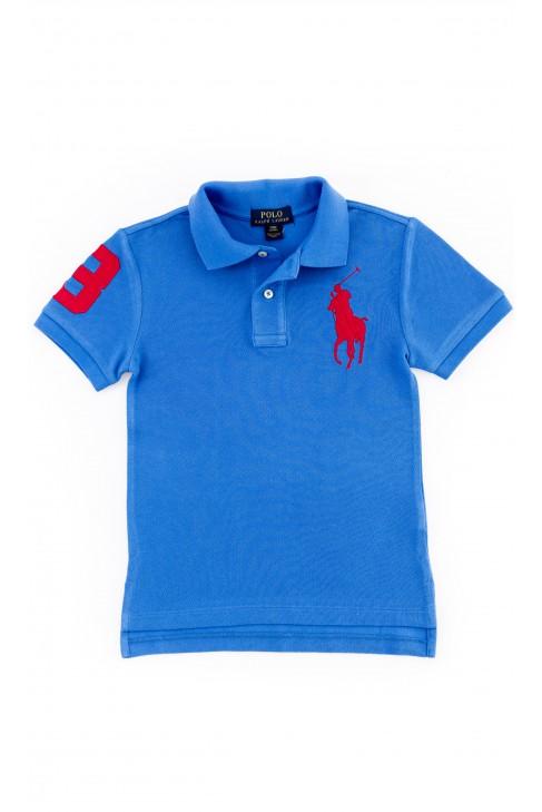 Boy's dark blue polo shirt by Polo Ralph Lauren