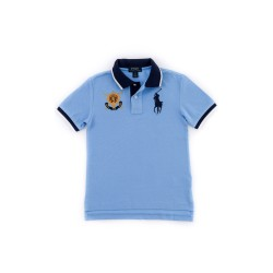 Boy's blue polo shirt, Polo Ralph Lauren