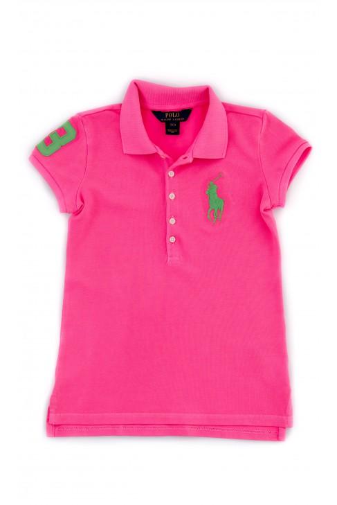 Pink girl's sweater, Polo Ralph Lauren