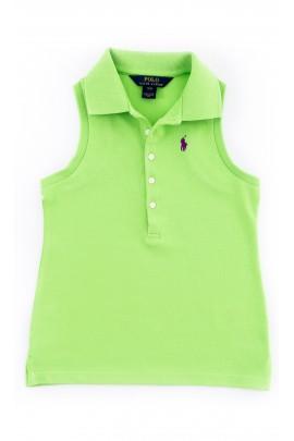 Zielona bluzka dziewczęca, Polo Ralph Lauren
