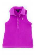 Fioletowa bluzka dziewczęca, Polo Ralph Lauren