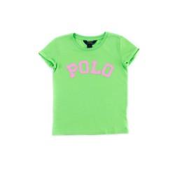 Green girl's T-shirt, Polo Ralph Lauren