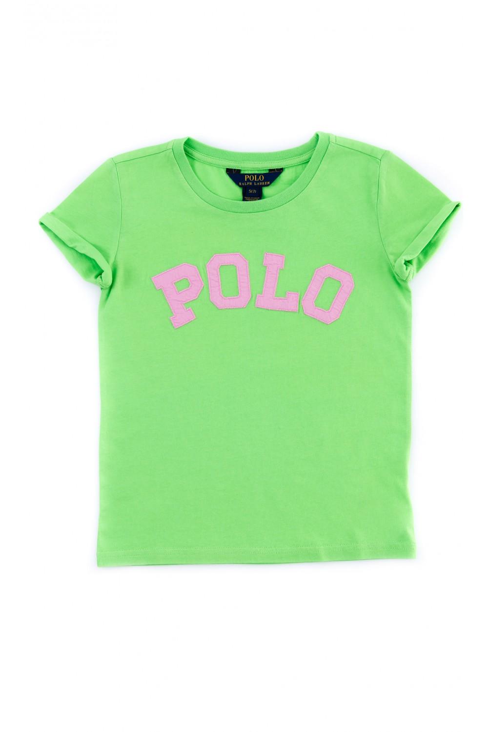 Green girl s t shirt polo ralph lauren celebrity club for Ralph lauren polo club shirts