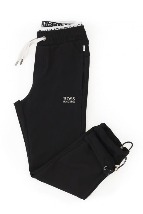 Boy's black sweatpants, Hugo Boss