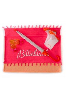 Biało- pomarańczowe kalosze, Billieblush