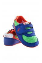 Zielono -szafirowe buciki niemowlęce, Ralph Lauren