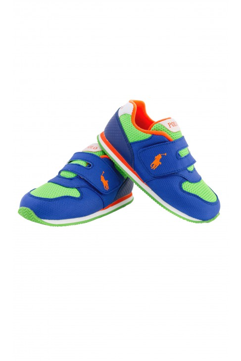 Buty sportowe szafirowo-zielone, Polo Ralph Lauren