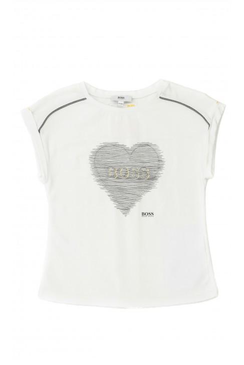 White girl's t-shirt, Hugo Boss