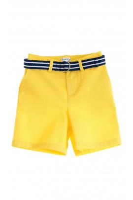 Krótkie spodnie żółte, Polo Ralph Lauren