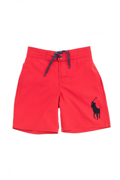 Red swimming trunks, Polo Ralph Lauren