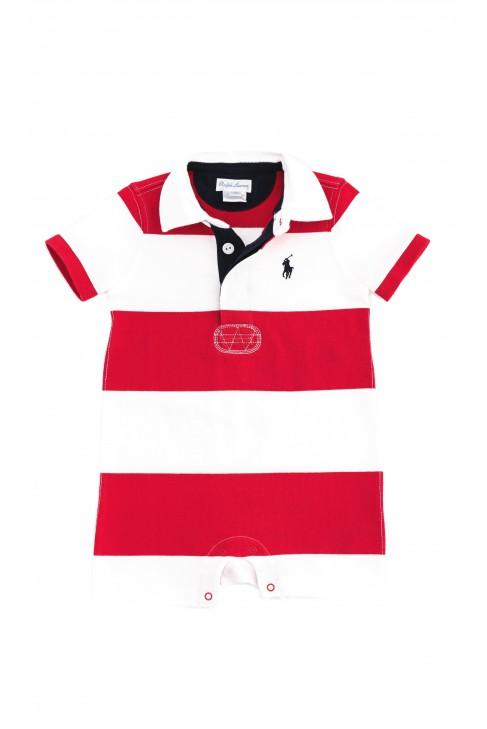 Czerwono-biały rampers, Polo Ralph Lauren
