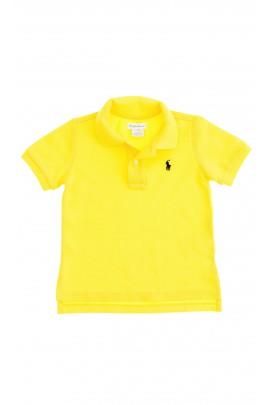 Żółte polo chłopięce, Polo Ralph Lauren