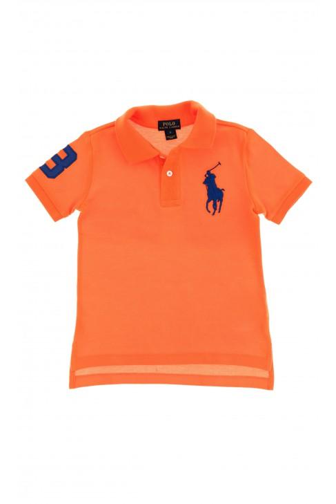 Pomarańczowe polo chłopięce, Polo Ralph Lauren