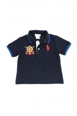 Granatowe polo chłopięce, Polo Ralph Lauren