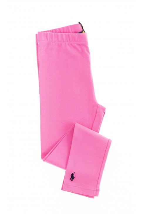 Różowe leginsy, Polo Ralph Lauren