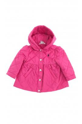 Różowa kurtka dziewczęca, Polo Ralph Lauren