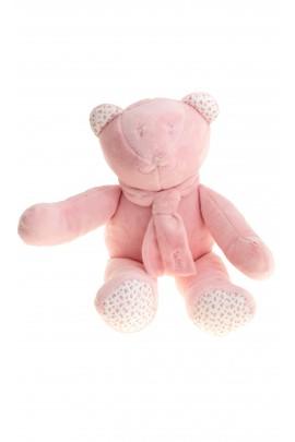 Różowy miś-maskotka, Polo Ralph Lauren