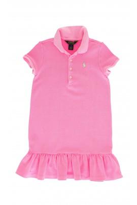 Jasno różowa sukienka, Polo Ralph Lauren