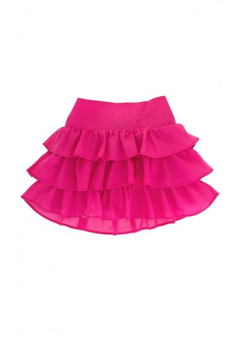 Różowa spódnica batystowa, Polo Ralph Lauren