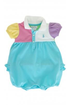 Kolorowy rampers dziewczęcy, Polo Ralph Lauren