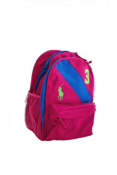 Plecak różowy Polo Ralph Lauren