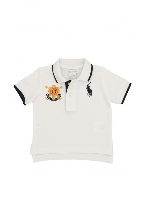Boy's white polo shirt, Polo Ralph Lauren