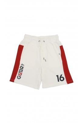 Biało-czerwone szorty sportowe, Polo Ralph Lauren