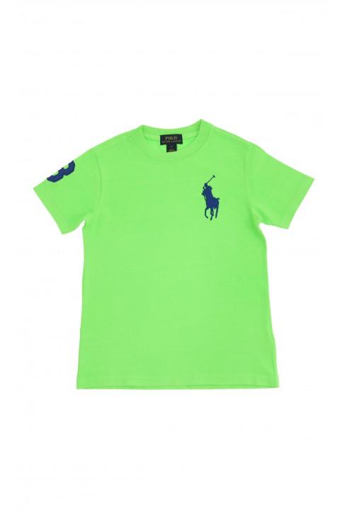 Limonkowy t-shirt, Polo Ralph Lauren