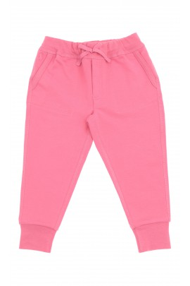 Różowe spodnie dresowe dziewczęce, Polo Ralph Lauren