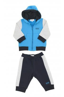 Niebiesko-granatowy dres chłopięcy, Hugo Boss