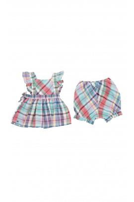 Sukienka niemowlęca w kratkę, Polo Ralph Lauren
