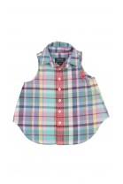 Bluzka top w kratkę, Polo Ralph Lauren