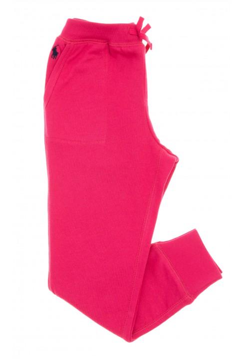 Różowe spodnie dresowe, Polo Ralph Lauren