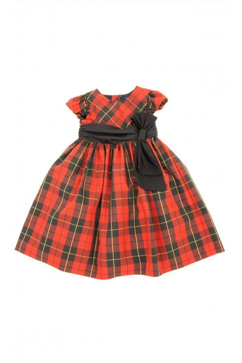 Czerwona sukienka, Ralph Lauren