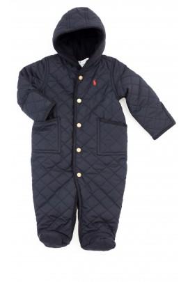 Granatowy kombinezon niemowlęcy, Polo Ralph Lauren